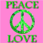 Shamrock Peace Symbol