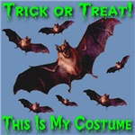 Trick or Treat 7 Bats This Is My Costume