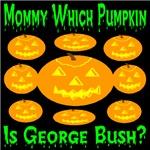 George Bush Jack-o-lantern