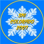 * On Sale * Ski Colorado Snowflake 2007