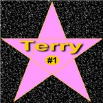 Terry Star (Front & Back as available)