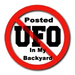 Posted No UFO In My Backyard