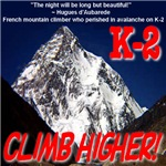 K-2 Memorial Climb Higher!