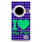 I Love My Flip Jade Heart