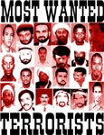 Most Wanted Terrorist Poster