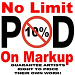 No Limit On POD Markup