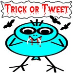 Trick or Tweet Vampire Bird & Bats