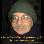 The diversity of philosophy is astronomical.