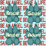 Be An Angel Save A Life Skyblue