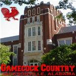 Gamecock Country Jacksonville, AL Collegiate Font