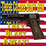These Colors Don't Run They Blast Away!