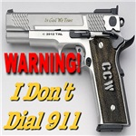 Warning! I Don't Dial 911