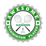 Badminton Player Customized