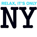 NY Iconic BlueBlack New York Relax