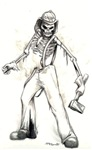 Fire Chief Skeleton