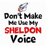 Dont Make Me Use My Sheldon Voice