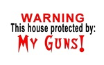Protected By: My Guns!
