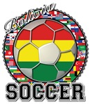 Bolivia Flag World Cup Soccer World Flags