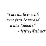 The Silence of The Lambs - Jeffrey Dahmer