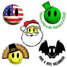 Holiday Smileys