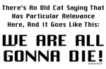 Old Cat Saying