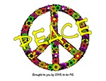 PEACE SIGN - FLOWERS