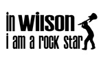 In Wilson I am a Rock Star