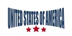 United States of America Three Starts Design
