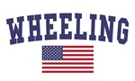 Wheeling US Flag