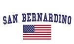 San Bernardino US Flag