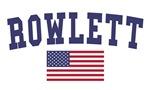 Rowlett US Flag