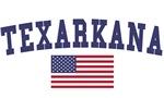 Texarkana Tx US Flag
