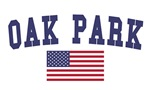 Oak Park Mi US Flag