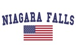Niagara Falls US Flag