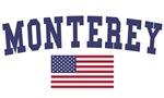 Monterey Park US Flag