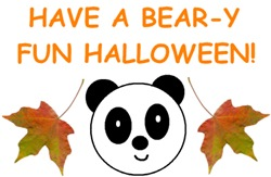 HAVE A BEAR-Y FUN HALLOWEEN