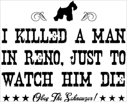 I Killed a Man In Reno