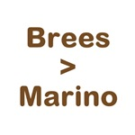 Brees Greater than Marino