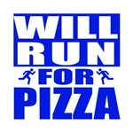 Run for Pizza (Blue)