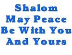 Shalom and Peace Hanukkah