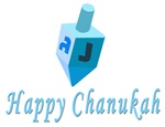 Happpy Chanukah Dreidel