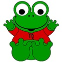 Virgo Cartoon Frog