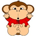Virgo Cartoon Monkey