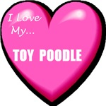 I Love My Toy Poodle T-Shirts