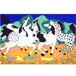 Appaloosa Horse Dance