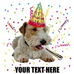 Personalized Wire Fox Terrier Birthday