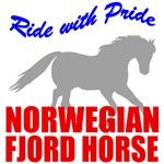 Norwegian Fjord Horse Pride