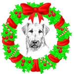 Christmas Airedale Terrier