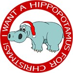 I Want A Hippopotamus For Christmas T-Shirt