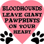 Bloodhound Pawprints